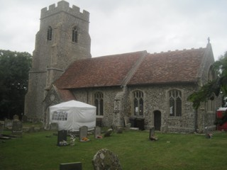 photo of St Clare's Church burial ground